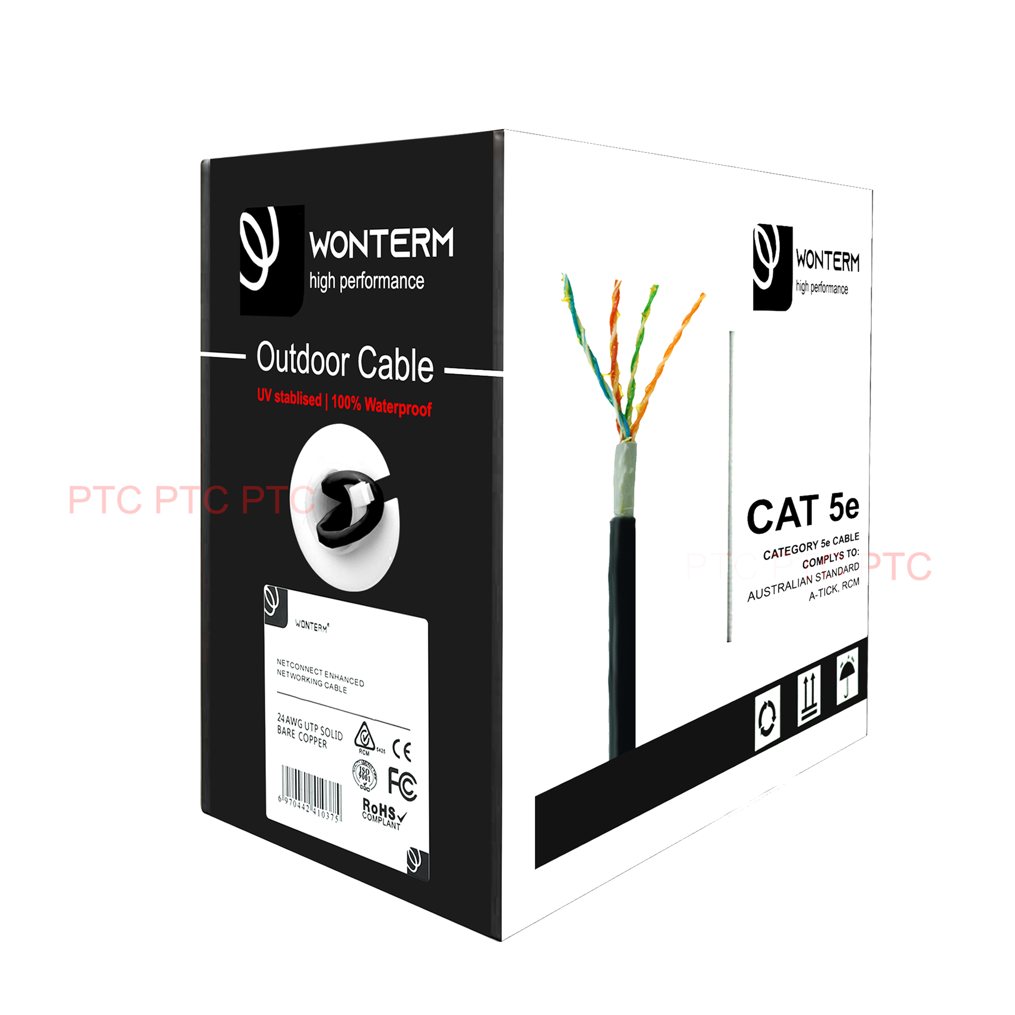 Cat5e Outdoor/ Waterproof Ethernet Cable